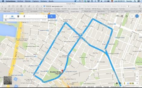 La zona del downtown Manhattan.